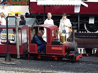 Conwy Valley Railway Museum - The miniature steam railway