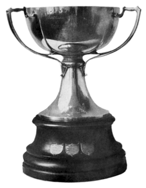 Copa de Competencia Jockey Club - The trophy awarded to champions