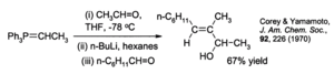 Wittig reaction - An example of the Schlosser variant of the Wittig reaction
