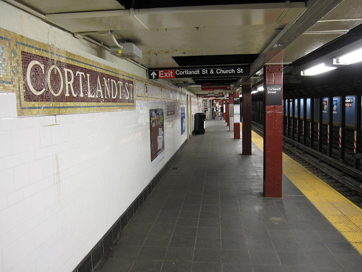 Cortlandt Street Linea Bmt Broadway Wikipedia