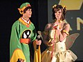 Cosplayers of Syaoran Li and Sakura Kinomoto at Animethon 20070811b.jpg