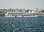 Costa Serena in the Bosphorus Strait in Istanbul 12 August 2010.jpg