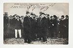 Course d'Aviation - Paris-Madrid - Mai 1911 - Départ -M. Berteaux, Ministre de la Guerre. M. Monis, Président du Conseil (7843395730).jpg