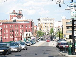 City of Binghamton neighborhood in Broome County, New York, United States of America