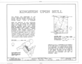 Cover Sheet - Kingston-Upon-Hill, Kitts Hummock Road, Dover, Kent County, DE HABS DEL,1-DOV.V,3- (sheet 1 of 6).png