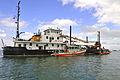 Crew members aboard the U.S. Coast Guard Cutter Hudson (WLIC 801) keep watch over Biscayne Bay in Florida Oct. 9, 2011 111009-G-KU792-189.jpg