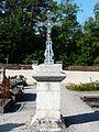 Creyssensac-et-Pissot cimetière Creyssensac croix principale.JPG