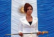 Cristina Fernandez Comandante en Jefe