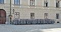 Crowd control barriers near Ballhausplatz.jpg