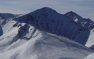 Crystal Peak (Tenmile Range) - Crystal Peak viewed from Peak 8