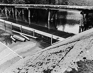 National Register of Historic Places listings in Mason County, Washington - Image: Cushman Dam No. 1