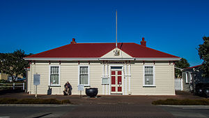 Ministry of Fisheries (New Zealand) - Image: Custom House, Napier