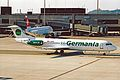 D-AGPB 1 Fokker 100 Germania ZRH 18JUN03 (8532786037).jpg