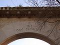 D209 Les Fonts, arc de Can Fonollet.jpg