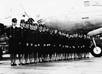 DC-4 and air hostess.jpg