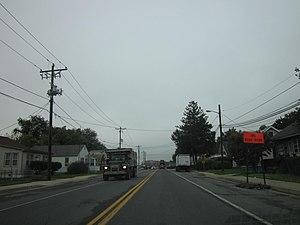 Delaware Route 9A - DE 9A southbound on Terminal Avenue approaching DE 9