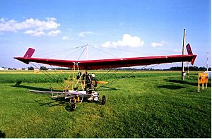 Pterodactyl Ascender -  Newly completed DFE Ascender III-C prior to first flight, 2004