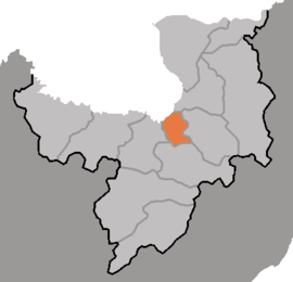 Location of Hyesan