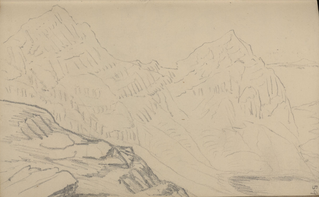 Sketch of Cadair Idris
