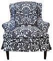 Damask slipcovered wing chair (3442717484).jpg