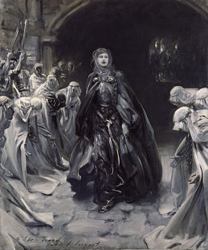 Ellen Terry as Lady Macbeth - Image: Dame (Alice) Ellen Terry by John Singer Sargent
