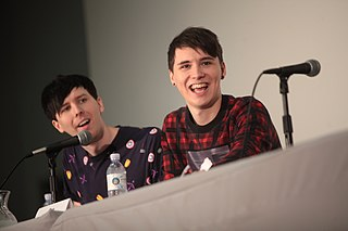Dan and Phil English entertainers