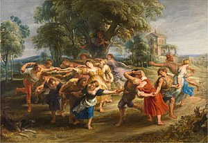 The Dance of the Villagers - Image: Danza aldeanos Rubens lou