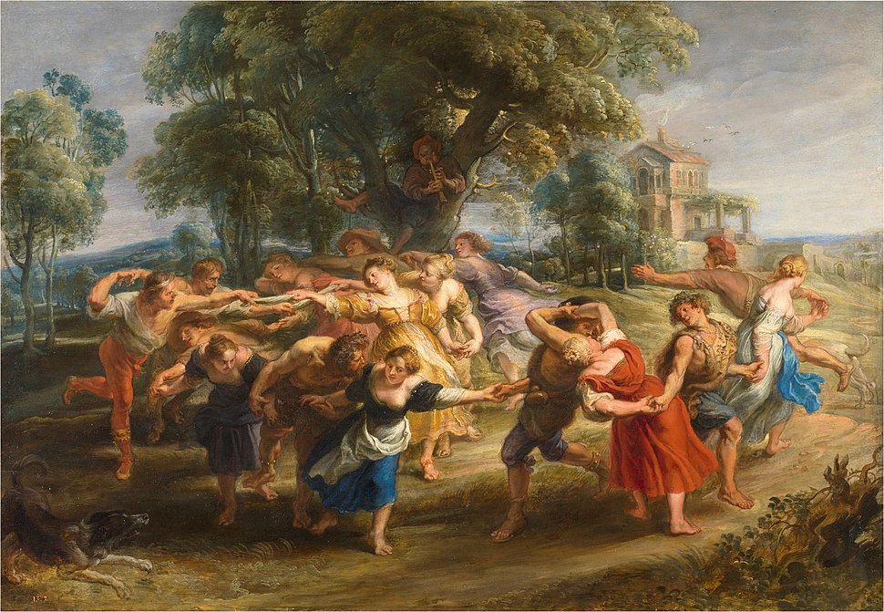 Danza aldeanos Rubens lou