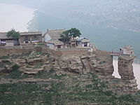 Daoist temple on the yellow river.jpg