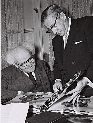 David Ben Gurion Billy Rose1960