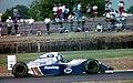 David Coulthard - Wiliams FW16 at the 1994 British Grand Prix (32162314330).jpg
