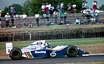 David Coulthard - Wiliams FW16 at the 1994 British Grand Prix (32162314330).jpg
