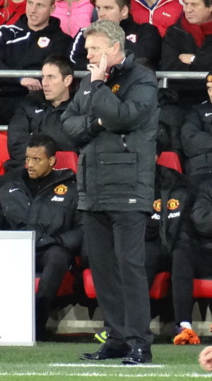 David Moyes - Moyes replaced Sir Alex Ferguson as manager of Manchester United in 2013.