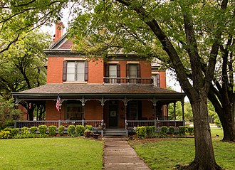 National Register of Historic Places listings in Cooke County, Texas - Image: Davis House 1 (1 of 1)