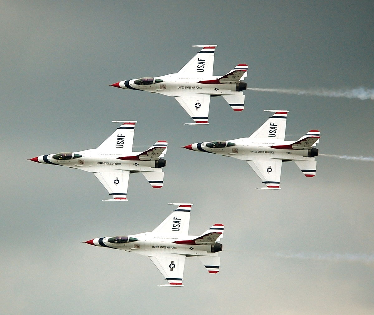 United states air force thunderbirds wikipedia for Airplane show