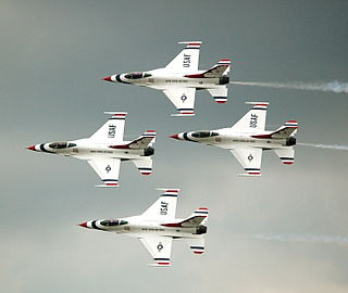 United States Air Force Thunderbirds Air demonstration squadron of the United States Air Force