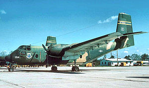 918th Armament Systems Group - 918th TAG de Havilland Canada C-7 Caribou about 1973