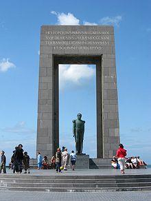Leopoldmonument in De Panne (Quelle: Wikimedia)