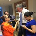 De Blasio at CASA-New Settlement People's Hearing (8964307811).jpg