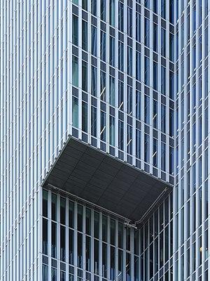De Rotterdam - detail of facade