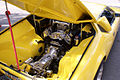 De Tomaso Pantera 1972 yellow Engine LakeMirrorClassic 17Oct09 (14600537595).jpg