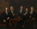De overlieden van het Amsterdamse goud- en zilversmidsgilde door Juriaen Pool (1701).PNG