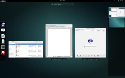 Debian 8.2 GNOME desktop