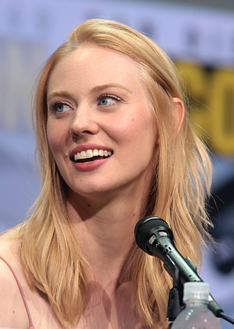 Deborah Ann Woll - Woll at the 2017 San Diego Comic-Con panel for The Defenders