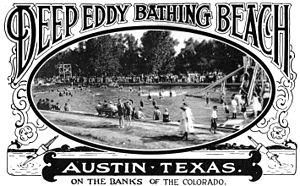 Deep Eddy Pool - Deep Eddy Bathing Beach in the 1920s.