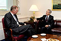 Defense.gov News Photo 101013-D-9880W-006 - Italy s Ambassador to the U.S. Giulio Terzi di Sant Agata right meets with Deputy Secretary of Defense William J. Lynn III left in the Pentagon on.jpg