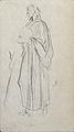 Dehodencq A. - Pencil - Etude de personnage - 10x6cm.jpg