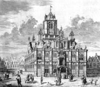 Ontwerp van Hendrick de Keyser (1618-'20)