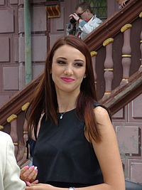 Delphine Wespiser, Miss France 2012.