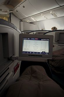 Delta air lines wikip dia for Interieur 777 300